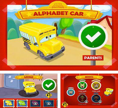 In addition to the game Spider Rider for Android phones and tablets, you can also download Alphabet Car for free.