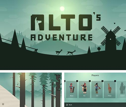 In addition to the game Ski Safari for Android phones and tablets, you can also download Alto's adventure for free.