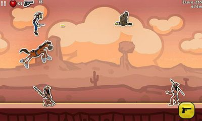 Download Amazing Cowboy Android free game.