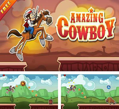 In addition to the game Electric Dude Deluxe for Android phones and tablets, you can also download Amazing Cowboy for free.