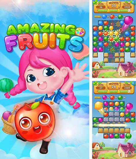 In addition to the game Dotard's Escape for Android phones and tablets, you can also download Amazing fruits for free.