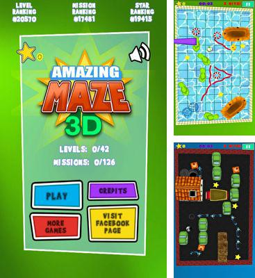 In addition to the game Dampfer Welle 3D for Android phones and tablets, you can also download Amazing Maze 3D Deluxe for free.