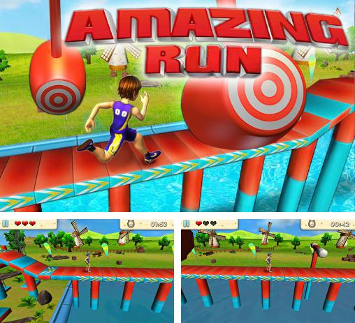 In addition to the game Wipeout 2 for Android phones and tablets, you can also download Amazing run 3D for free.