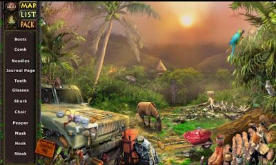 Kostenloses Android-Game Amazonas. Versteckte Expedition. Vollversion der Android-apk-App Hirschjäger: Die Amazon Hidden Expedition für Tablets und Telefone.