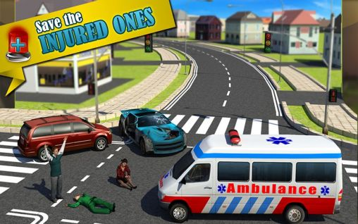 Ambulance: Doctor simulator 3D скриншот 2