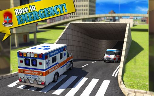 Screenshots von Ambulance: Doctor simulator 3D für Android-Tablet, Smartphone.