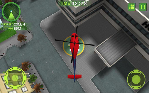 Jogue Ambulance helicopter simulator para Android. Jogo Ambulance helicopter simulator para download gratuito.