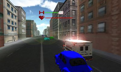 Screenshots von Ambulance Rush für Android-Tablet, Smartphone.
