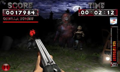 Screenshots of the Ambush Zombie for Android tablet, phone.