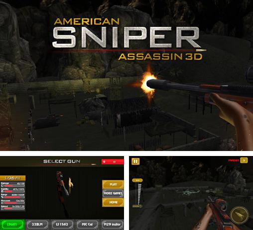In addition to the game Zombie elite sniper for Android phones and tablets, you can also download American sniper assassin 3D for free.