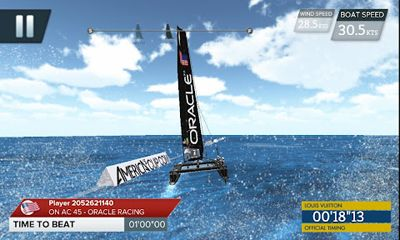 America's Cup - Speed Trials скриншот 2