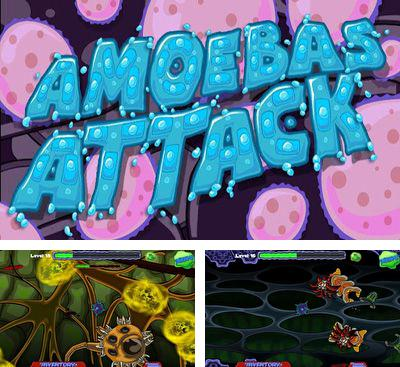 In addition to the game Aztec puzzle for Android phones and tablets, you can also download Amoebas Attack for free.