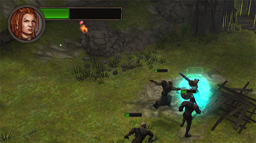 Screenshots von Ancient rivals: Dungeon RPG für Android-Tablet, Smartphone.