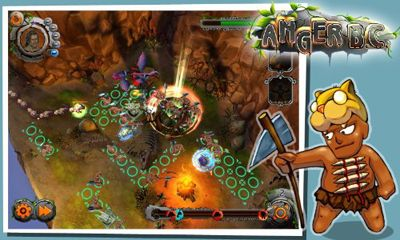 Screenshots of the Anger B.C. TD for Android tablet, phone.