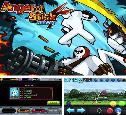 In addition to the game Cartoon wars 3 for Android phones and tablets, you can also download Anger of Stick 4: Reboot for free.