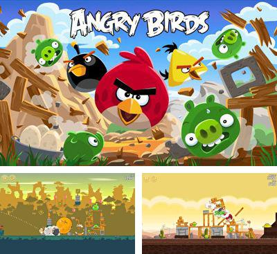 In addition to the game Bad Piggies for Android phones and tablets, you can also download Angry Birds for free.