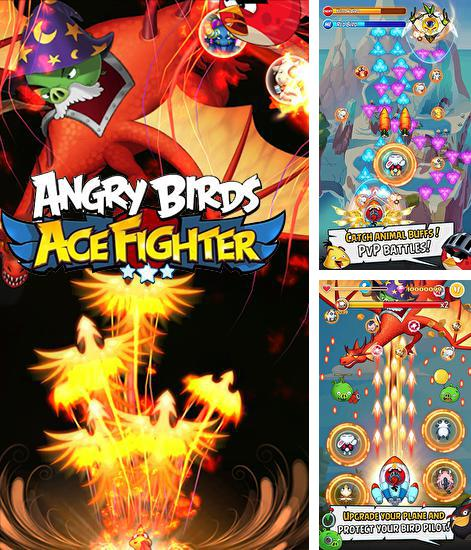 In addition to the game Soundtrack attack: Steven universe for Android phones and tablets, you can also download Angry birds: Ace fighter for free.