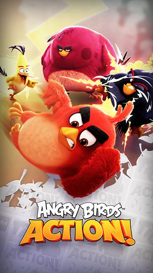 Angry birds action! poster