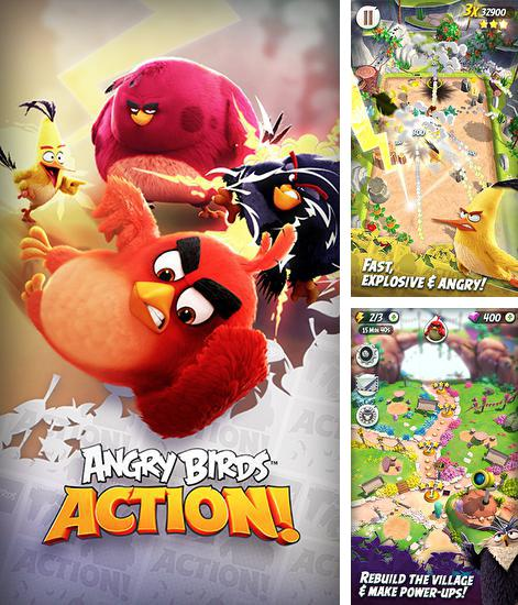 In addition to the game Mushroom war for Android phones and tablets, you can also download Angry birds action! for free.