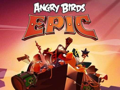 Angry birds epic poster
