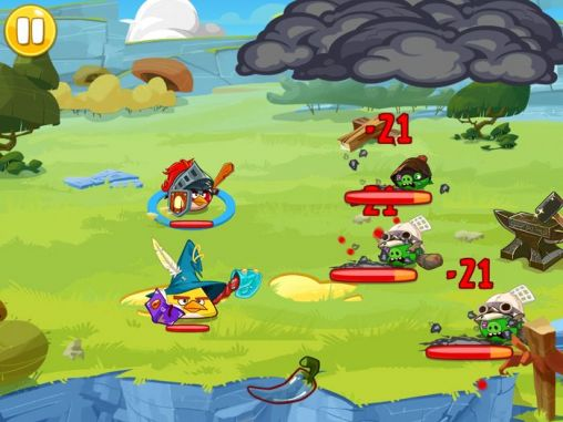 Angry birds epic screenshot 4