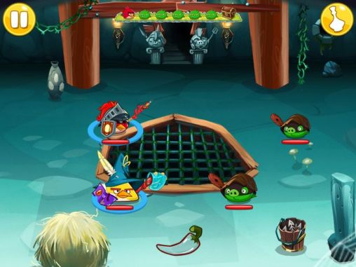 Angry birds epic screenshot 5