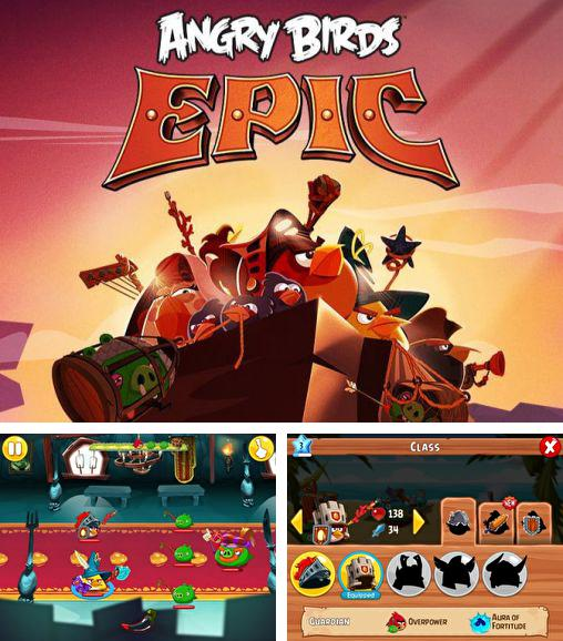 In addition to the game Angry birds 2 for Android phones and tablets, you can also download Angry birds epic for free.