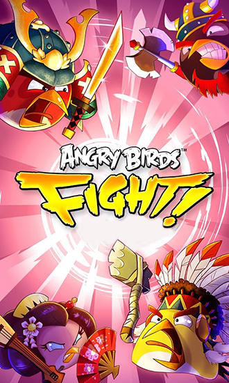 Angry birds: Fight! обложка