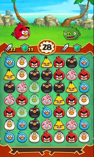 Angry birds: Fight! screenshot 1
