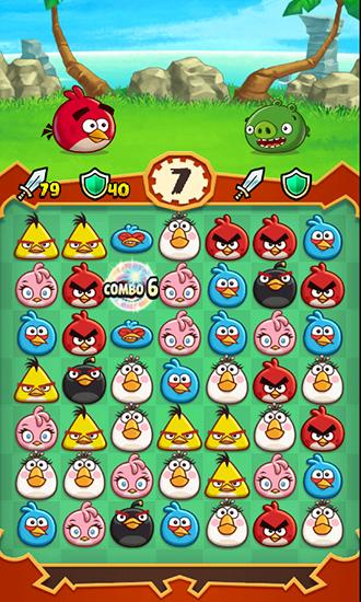 Angry birds: Fight! скриншот 2