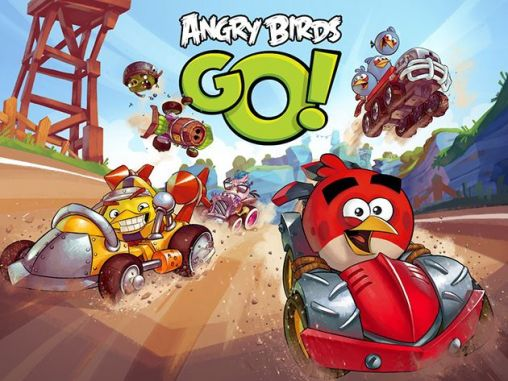 Angry birds go! poster