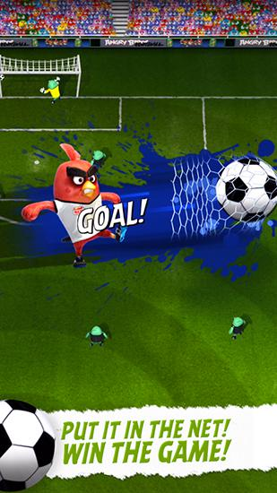 Angry birds: Goal! screenshot 2