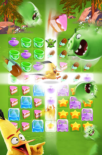 Screenshots von Angry birds match für Android-Tablet, Smartphone.