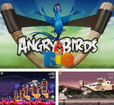 In addition to the game Angry Birds Rio for Android, you can download other free Android games for Fly FS528.