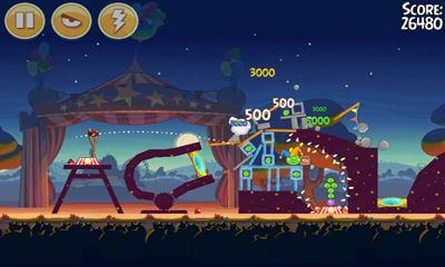 Angry Birds Seasons - Abra-Ca-Bacon! screenshot 5