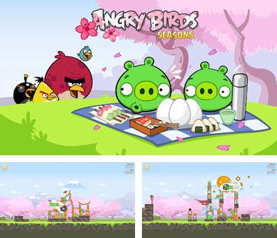 In addition to the game Angry Birds Seasons Back To School for Android phones and tablets, you can also download Angry Birds Seasons: Cherry Blossom Festival for free.