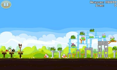 Angry Birds. Seasons: Easter Eggs für Android spielen. Spiel Angry Birds. Seasons: Ostereier kostenloser Download.