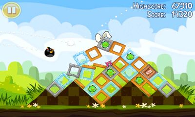 Screenshots von Angry Birds. Seasons: Easter Eggs für Android-Tablet, Smartphone.