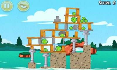 安卓平板、手机Angry Birds Seasons Piglantis!截图。