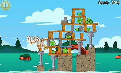 Angry Birds Seasons Piglantis! скриншот 2