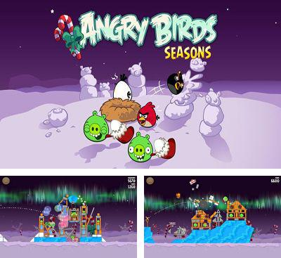 In addition to the game Angry Birds Star Wars v1.5.3 for Android phones and tablets, you can also download Angry Birds Seasons Winter Wonderham! for free.