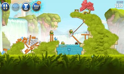 Screenshots of the Angry Birds Star Wars 2 v1.8.1 for Android tablet, phone.