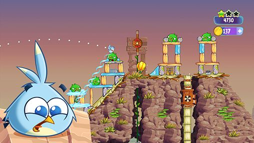 Screenshots von Angry birds: Stella für Android-Tablet, Smartphone.