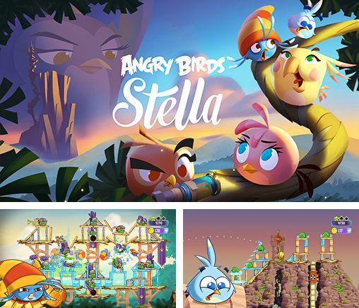 In addition to the game Angry birds 2 for Android phones and tablets, you can also download Angry birds: Stella for free.