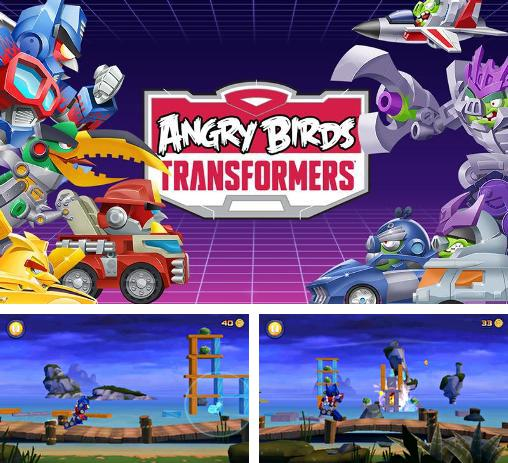 In addition to the game Angry Birds Star Wars 2 v1.8.1 for Android phones and tablets, you can also download Angry birds: Transformers for free.