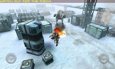 Download ANGRY BOTS 9MB Android free game.
