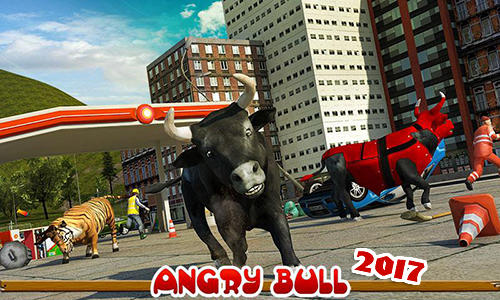 Angry bull 2017 poster