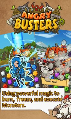 Screenshots von Angry Busters für Android-Tablet, Smartphone.