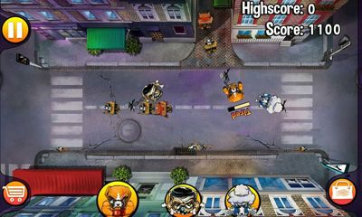 Screenshots do Angry Dogs - Perigoso para tablet e celular Android.