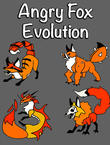 Angry fox evolution: Idle cute clicker tap game APK